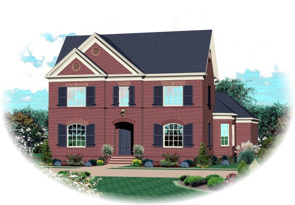 House Plan 47300 Elevation