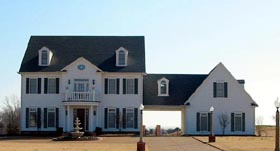 House Plan 47301 with 4 Beds, 4 Baths, 2 Car Garage Elevation