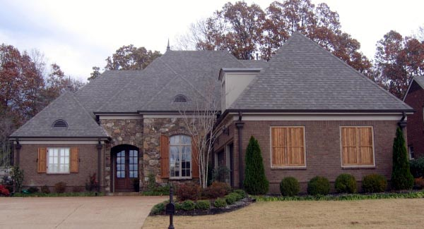 House Plan 47304 Elevation