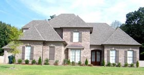 House Plan 47305 | Style Plan with 3823 Sq Ft, 4 Bedrooms, 4 Bathrooms, 3 Car Garage Elevation