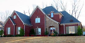 House Plan 47308 with 3 Beds, 4 Baths, 3 Car Garage Elevation