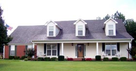 House Plan 47312 | Style Plan with 2574 Sq Ft, 3 Bedrooms, 2 Bathrooms, 2 Car Garage Elevation