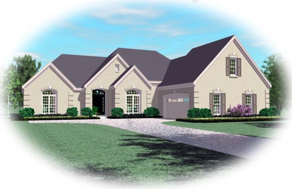 House Plan 47320 Elevation