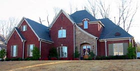 House Plan 47321 | Style Plan with 4362 Sq Ft, 4 Bedrooms, 4 Bathrooms, 3 Car Garage Elevation