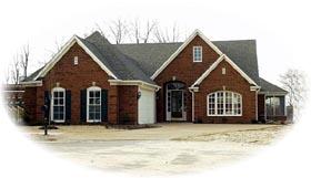 House Plan 47329 Elevation