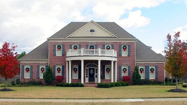 Plantation House Plan 47330 Elevation