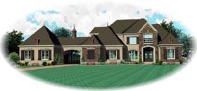 House Plan 47336 Elevation