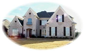 House Plan 47340 with 4 Beds, 4 Baths, 3 Car Garage Elevation