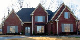House Plan 47341 with 4 Beds, 4 Baths, 3 Car Garage Elevation