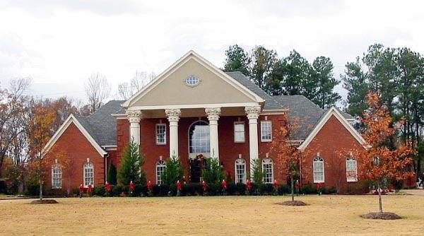 House Plan 47357 Elevation