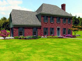 Traditional House Plan 47372 Elevation