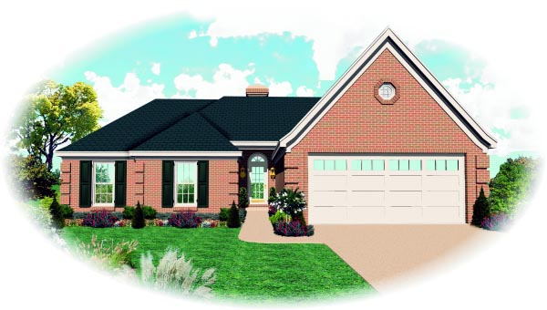 House Plan 47377 Elevation