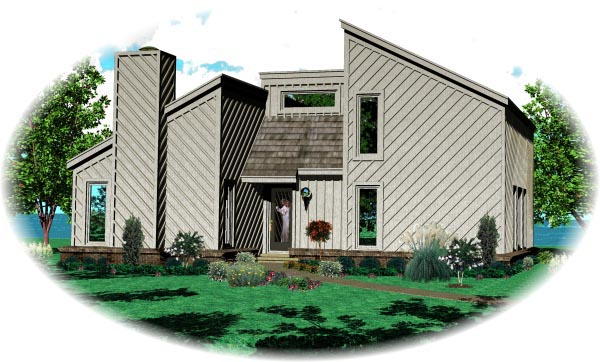 Traditional House Plan 47379 Elevation
