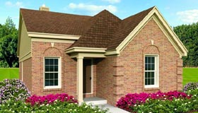Traditional House Plan 47381 Elevation