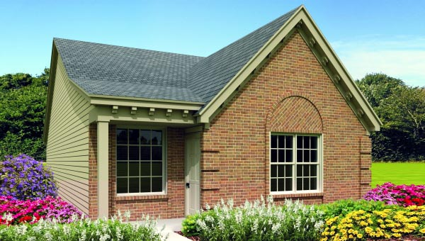 Traditional House Plan 47383 Elevation