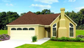 Traditional House Plan 47388 Elevation