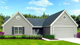 Country House Plan 47390 Elevation