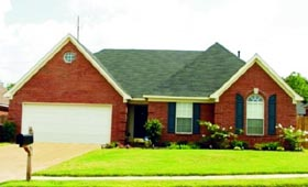 Traditional House Plan 47398 Elevation