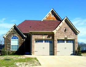 House Plan 47407 | Style House Plan with 1932 Sq Ft, 3 Bed, 2 Bath, 2 Car Garage Elevation