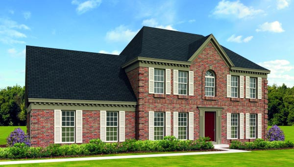 House Plan 47418 Elevation