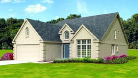 Colonial House Plan 47419 Elevation