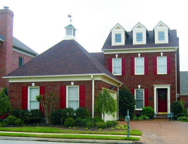 House Plan 47421 Elevation
