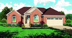 Traditional House Plan 47422 Elevation