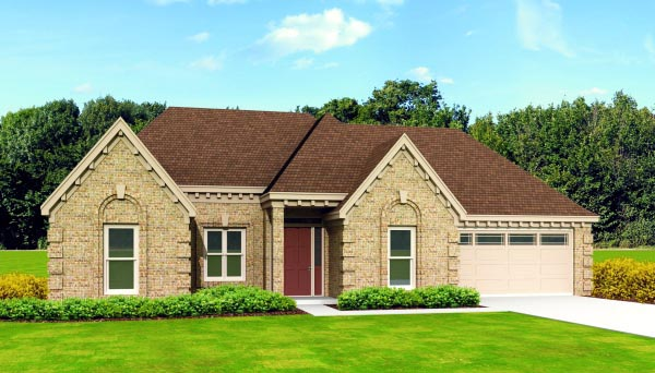 House Plan 47425 Elevation