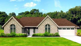 Traditional House Plan 47426 Elevation