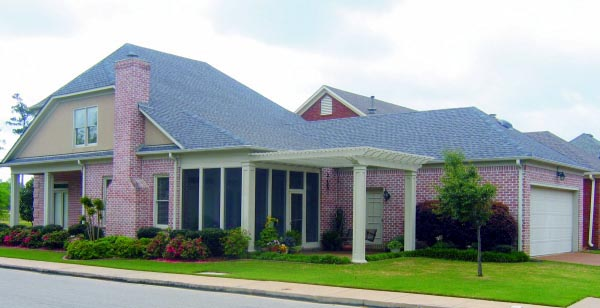House Plan 47429 Rear Elevation