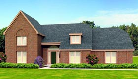 Country House Plan 47430 Elevation