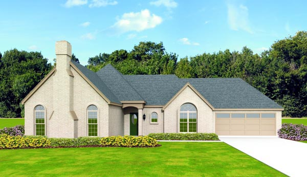 Traditional House Plan 47432 Elevation