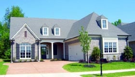 Country House Plan 47437 Elevation