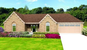 Traditional House Plan 47440 Elevation