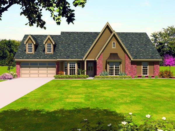 Traditional House Plan 47450 Elevation
