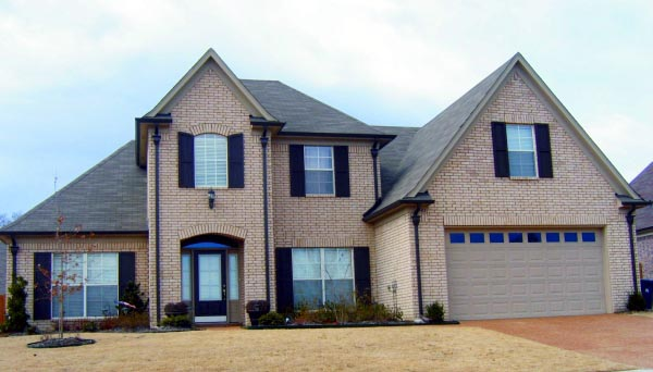 Country House Plan 47456 with 3 Beds, 3 Baths, 2 Car Garage Elevation