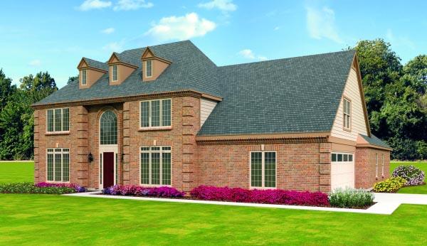 House Plan 47470 Elevation