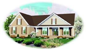 House Plan 47472 Elevation