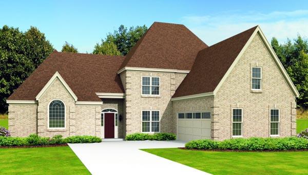 House Plan 47475 Elevation