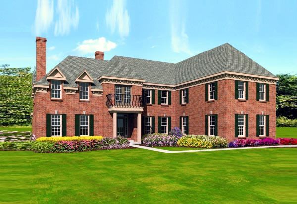 Traditional House Plan 47506 Elevation