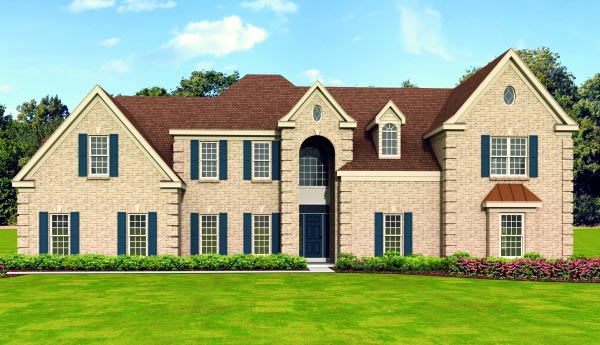 Traditional House Plan 47507 Elevation