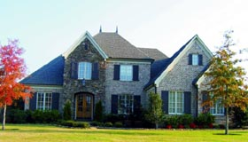 Country House Plan 47513 with 4 Beds, 4 Baths, 3 Car Garage Elevation