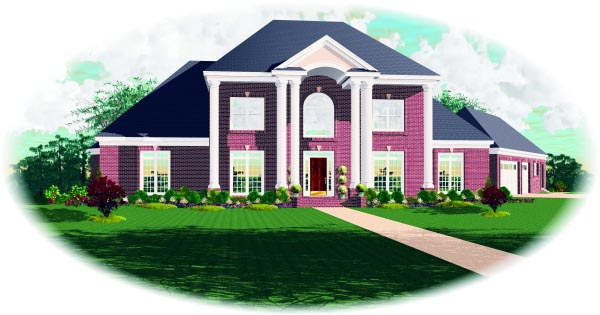 Traditional House Plan 47521 Elevation