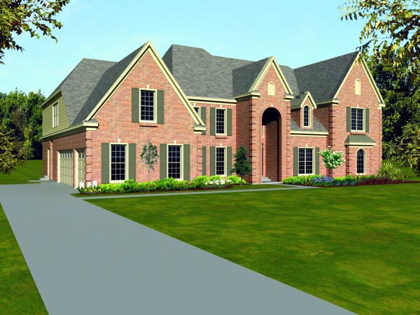 Traditional House Plan 47524 Elevation