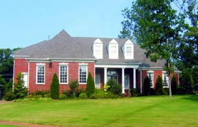 Traditional House Plan 47539 Elevation