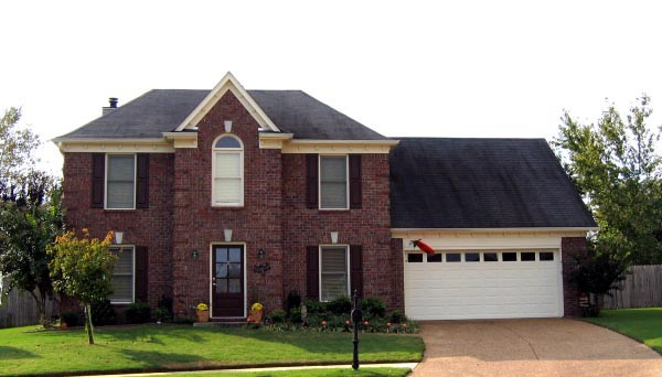 House Plan 47548 | European Traditional Style Plan with 2122 Sq Ft, 3 Bedrooms, 3 Bathrooms, 2 Car Garage Elevation