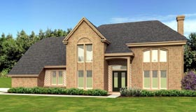 Contemporary House Plan 47560 Elevation