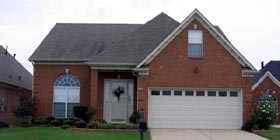Traditional House Plan 47580 with 3 Beds, 3 Baths, 2 Car Garage Elevation