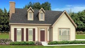 Traditional House Plan 47583 Elevation