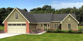 Traditional House Plan 47584 Elevation